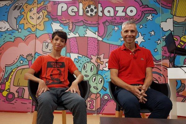 """Elías Uner y su mayor premio, la admiración de su hijo: """"Mi papá es mi ídolo"""""""
